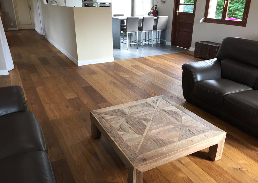 parquet semi massif gamme premium fum id parquet. Black Bedroom Furniture Sets. Home Design Ideas